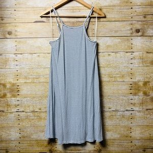 Mossimo Summer Dress Black & White Stripes